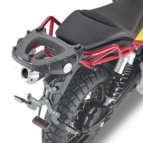 Support top case pour Moto Guzzi V85 TT (Bj.19-) Original Givi