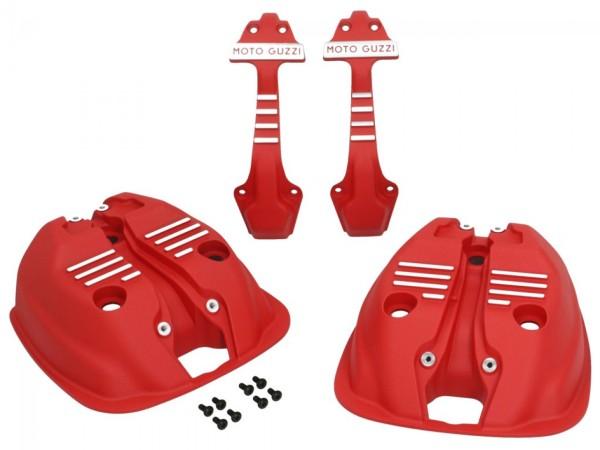 Couvre culasse (jeu) rouge pour Moto Guzzi V7 III