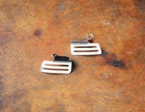 Cache d'origine, aluminium, poli pour Moto Guzzi V7 I + II
