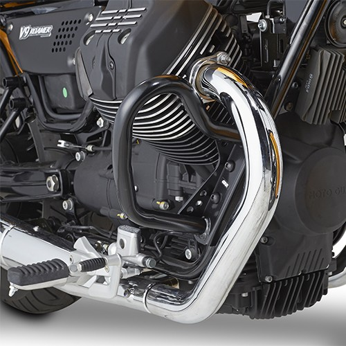 Crash bar noir pour Moto Guzzi Original Givi