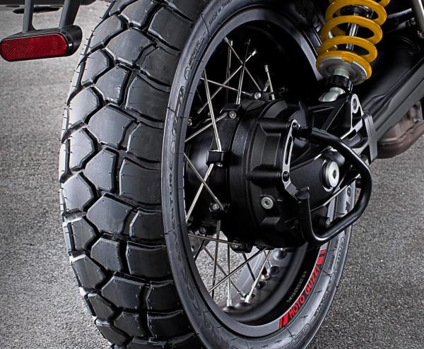 Barre de protection cardan, noir V85 TT d'origine Moto Guzzi