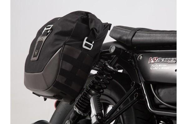 Set de sacoches latérales Moto Guzzi V9 Roamer / Bobber (16-) SW Motech Legend Gear