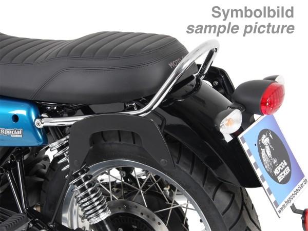 Support latéral C-Bow chromé pour V 7 III stone / special / Anniversario / Racer (Bj.17-)