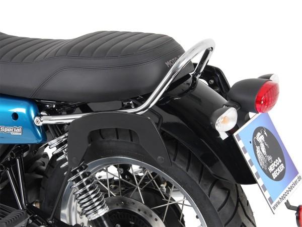 Support latéral C-Bow noir pour V 7 III stone / special / Anniversario / Racer (Bj.17-)