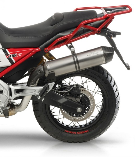 Silencieux slip-on ARROW pour Moto Guzzi V85 TT