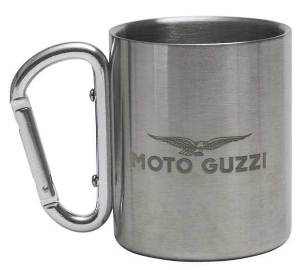 Tasse Moto Guzzi en acier inoxydable