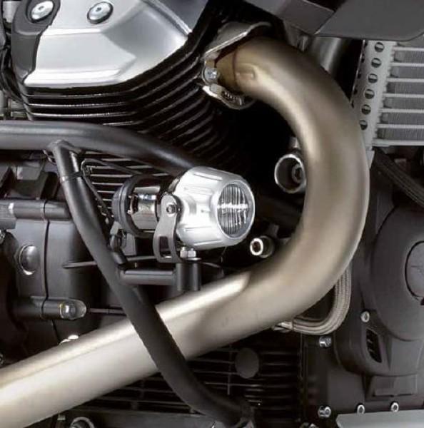 Barre de protection moteur noire pour Stelvio 1200 d'origine Moto Guzzi