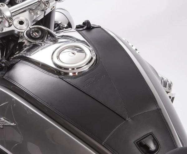 Housse de réservoir d'origine, en cuir pour Moto Guzzi Eldorado