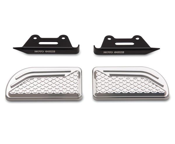 Coussinets d'origine pour repose-pieds en aluminium pour Moto Guzzi Audace