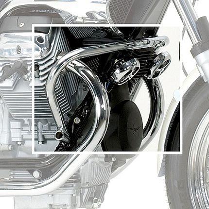 Barre de protection moteur Moto Guzzi Nevada chromée