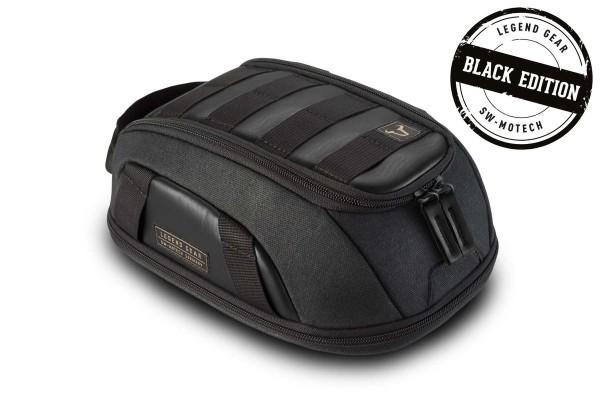 Sacoche de réservoir LT1 Black Edition Moto Guzzi V9 Roamer / Bobber (15-18), LH / KP Legend Gear SW Motech