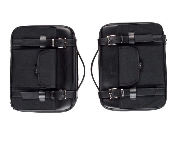 Seitentasche, schwarz für Moto Guzzi V7 III / V7 850 / V9 Roamer/ V9 Bobber