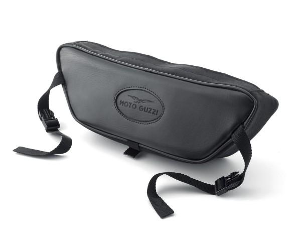 Sacoche de guidon d'origine, noire pour Moto Guzzi Eldorado / California