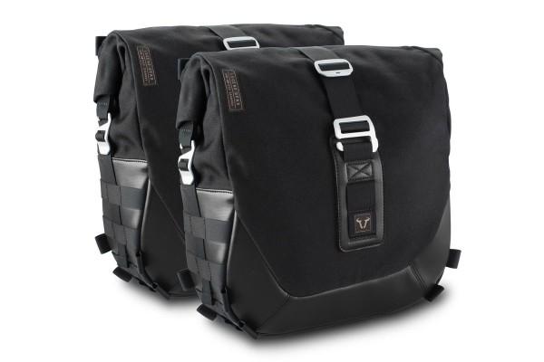 Système de sacoches latérales Legend Gear LC Black Edition pour Moto Guzzi V7 III SW Motech