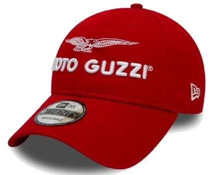 Casquette Moto Guzzi Base Garage rouge