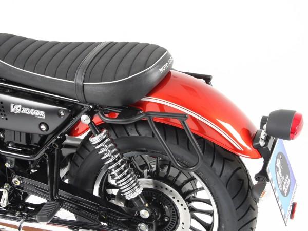 Porte-bagages en cuir Cutout pour V 9 Roamer (Bj.16-) original Hepco & Becker