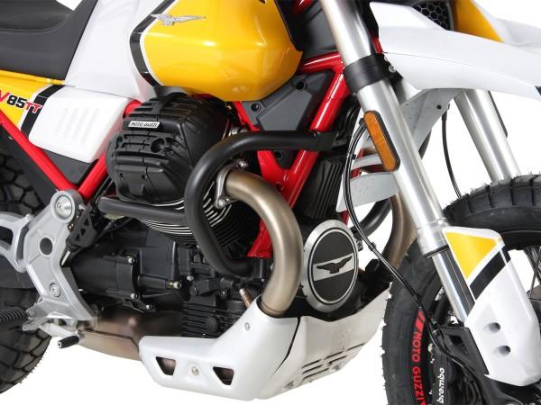 Barre de protection moteur noire pour V85 TT (Bj.19-) origine Hepco & Becker