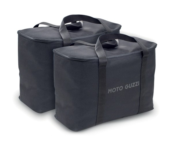 Sacs intérieurs d'origine pour valises latérales en aluminium Moto Guzzi V85 TT