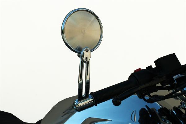Rétroviseur d'origine, aluminium, argent pour Moto Guzzi V7 III