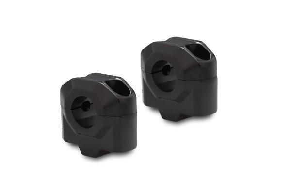 Rehausse de guidon 25 mm noir pour Moto Guzzi V7 III (16-) SW Motech