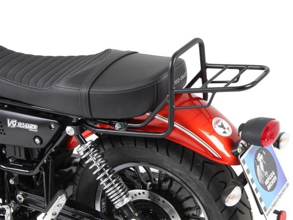 Tube porte-bagages top case noir pour modèle V 9 Roamer (Bj.17-) avec siège long