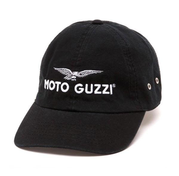 Casquette Moto Guzzi THE CLAN noir