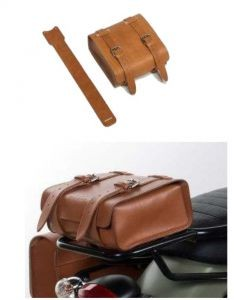Etui en cuir d'origine, marron pour Moto Guzzi V7 I + II