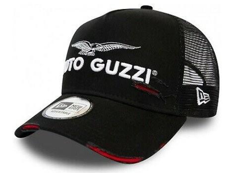 Casquette Moto Guzzi Base Cap Trucker noir