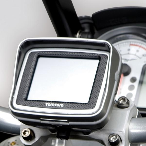 Support Moto Guzzi Stelvio pour système de navigation Tom Tom Rider II