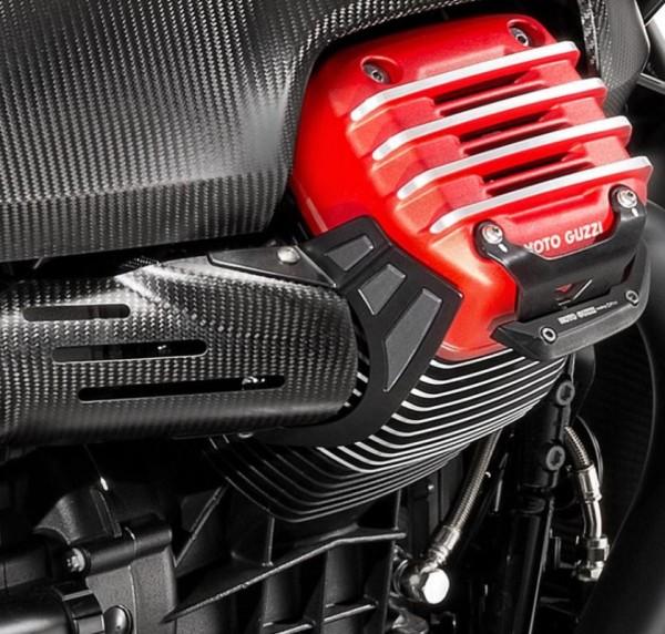 Protection thermique en acier inoxydable pour Moto Guzzi MGX 21