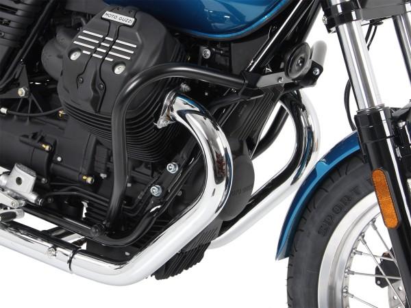 Barre de protection moteur noire pour V 7 III stone / special / Anniversario / Racer (Bj.17-)