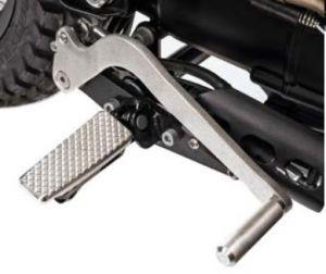 SET d'origine EXTENDED SHIFT / B pour Moto Guzzi V7 I + II