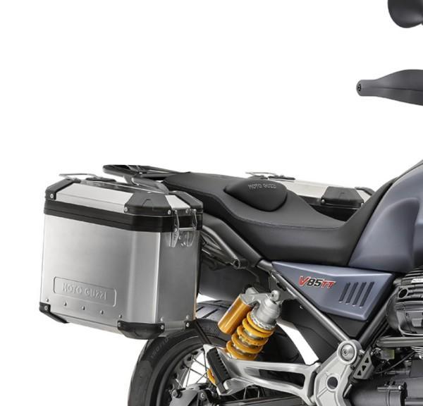 Coffret aluminium d'origine Moto Guzzi V85 TT