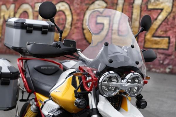 Pare-brise touring d'origine pour Moto Guzzi V85 TT