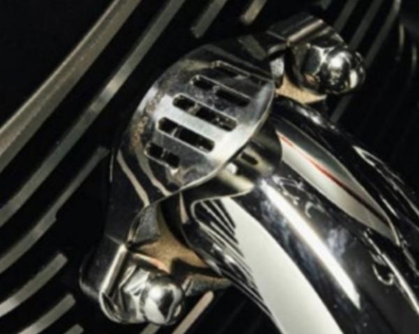 Jeu de garnitures décoratives pour collecteur pour Moto Guzzi V7 III