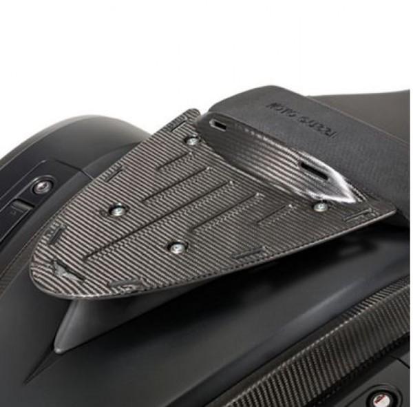 Porte bagage d'origine, arrière, carbone pour Moto Guzzi MGX 21