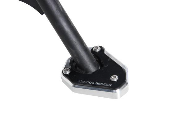 Plaque de béquille latérale pour V85 TT (Bj. 2020-) origine Hepco & Becker