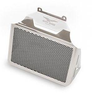 Cache radiateur d'huile d'origine, aluminium, argent pour Moto Guzzi Eldorado / California