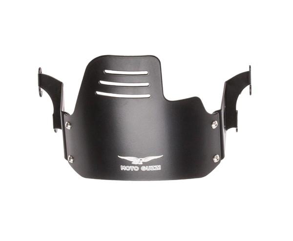Cache phare d'origine, noir pour Moto Guzzi V9 Bobber