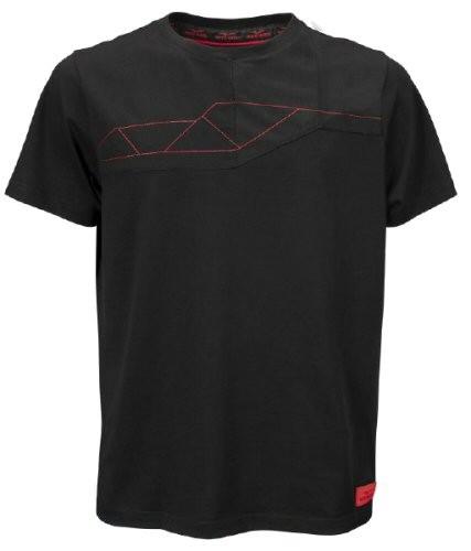 T-shirt homme Moto Guzzi V85TT coton noir